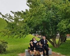 옛날교복대여 싸다에서 가족단체대여했어요~